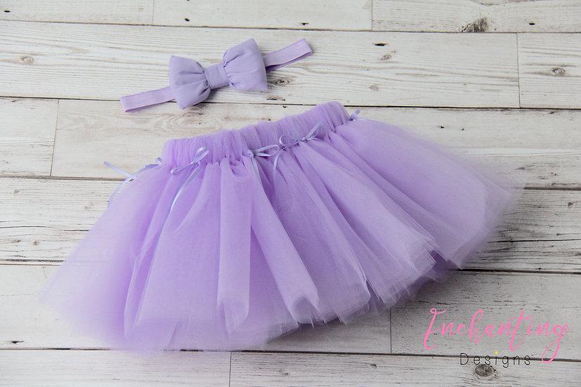 Lilac Tutu Set