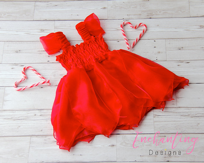 Red Fairy Dress