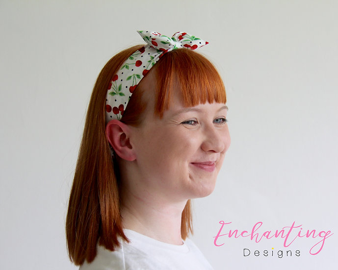 Cherry Retro Headband