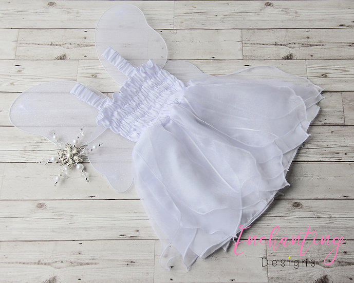White Fairy Dress