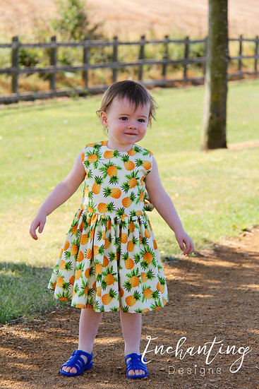 Pineapple Classic Dress