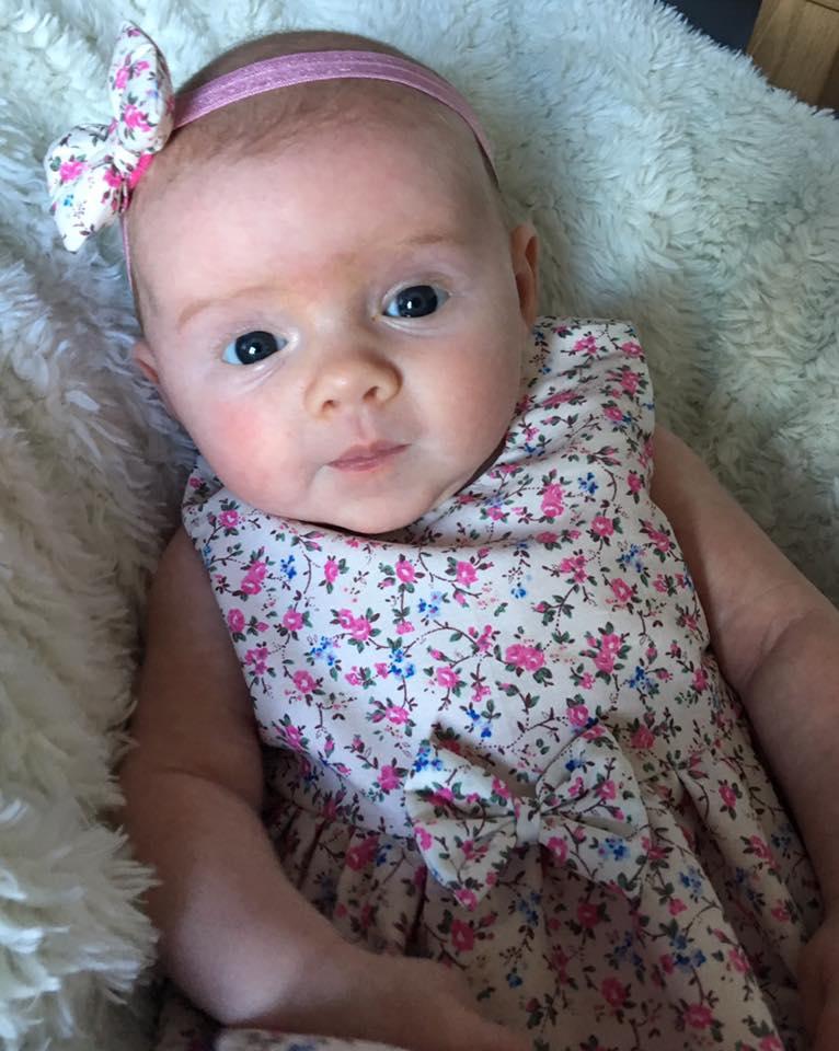 Newborn Dress & Bow Headband