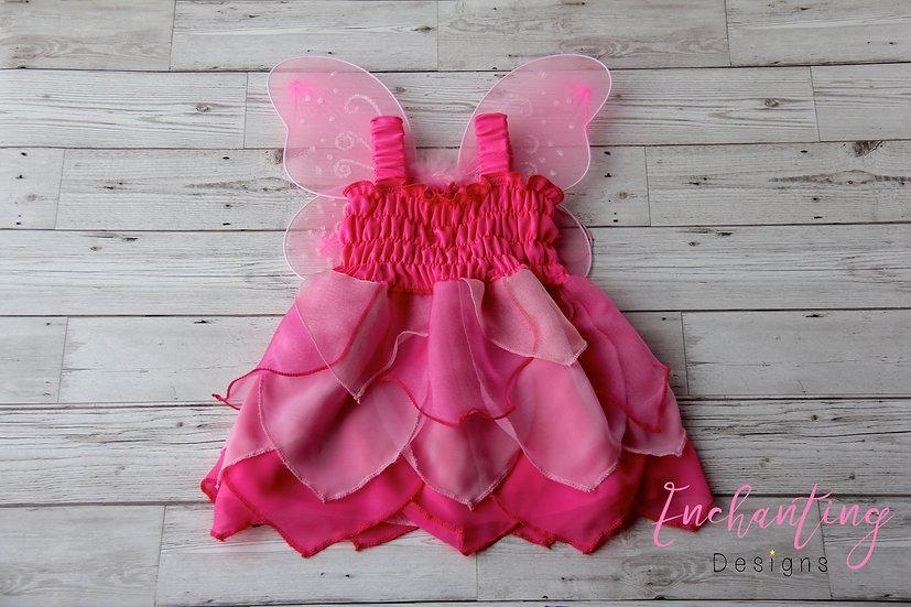 Hot Pink Pixie Dress