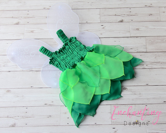 Tinkerbell Inspired Pixie Dress