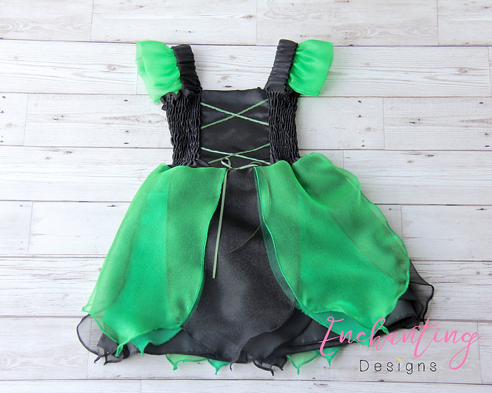 Black & Green Witch Dress