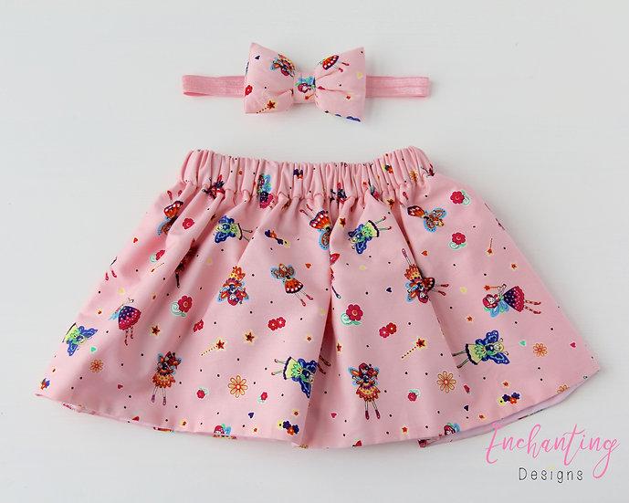 Pink Fairy Skirt Set