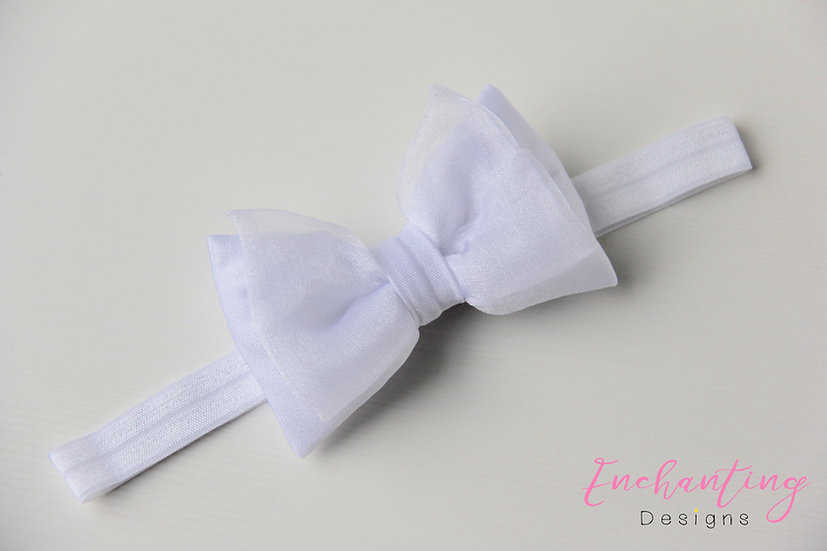 White Fairy Headband