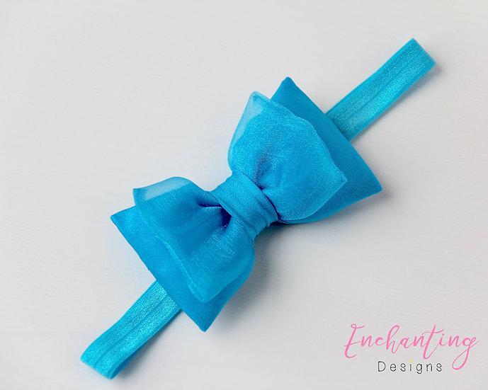 Turquoise Fairy Headband