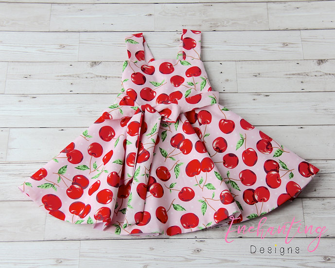 Pink Cherry Retro Dress
