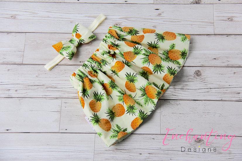 Pineapple Skirt Set
