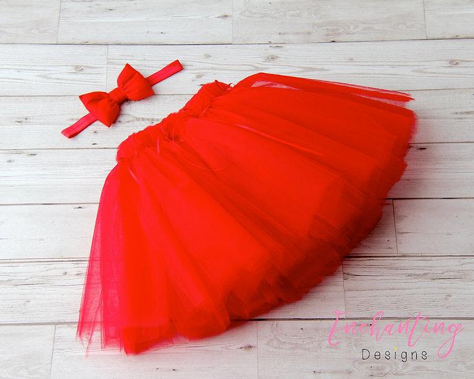 Red Tutu Set