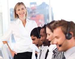call center manager