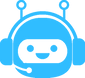 blue bot icon