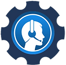 call centr agent icon
