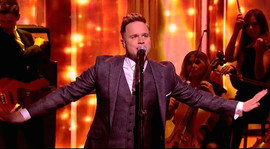 With Olly Murs for Royal Variety Show