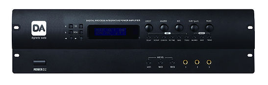 DSP Karaoke Power Amp