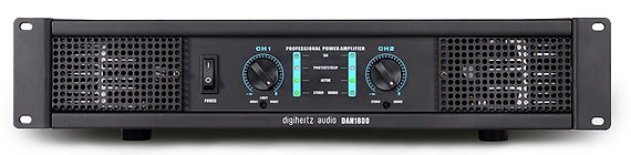 Digihertz Stereo Power Amp