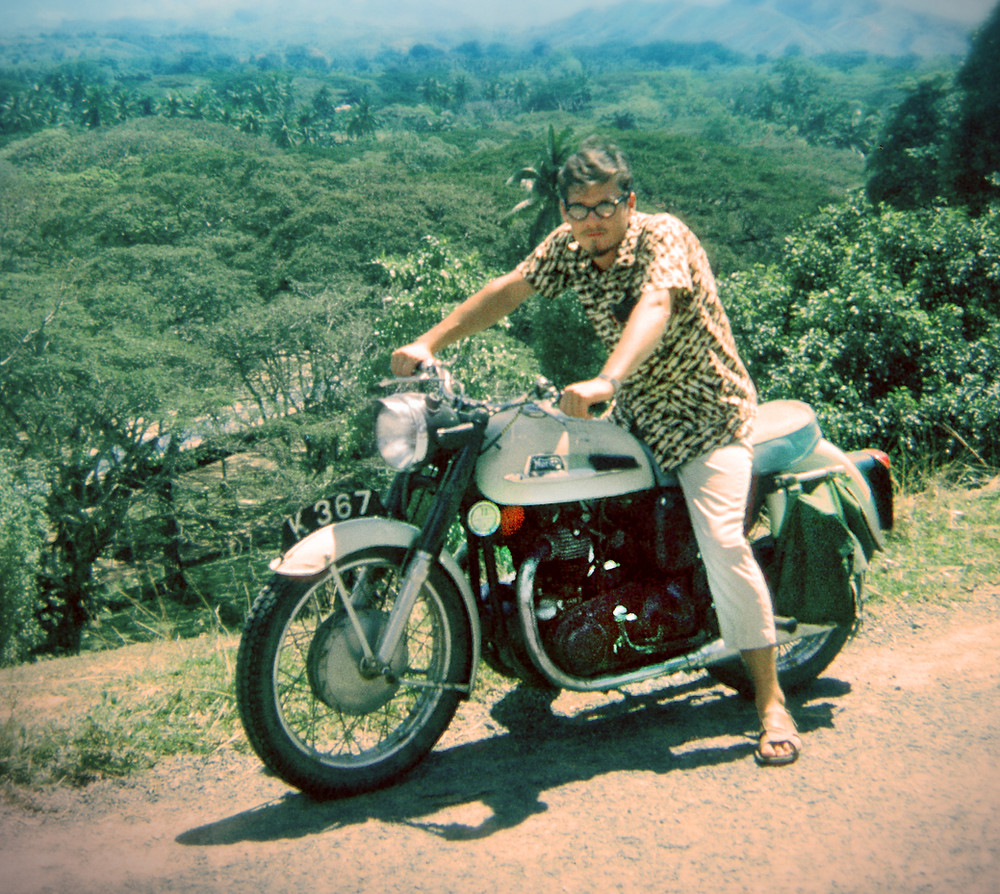 Author Neill McKee in 1968–70 as a CUSO volunteer in Sabah, North Borneo