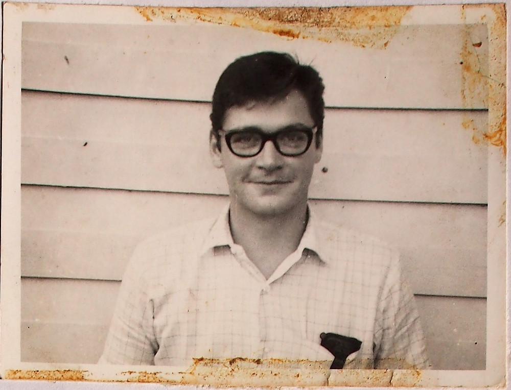 Author Neil McKee, 1968, in Borneo