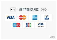izettle accept cards logo