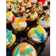 Candy Dream Cupcakes