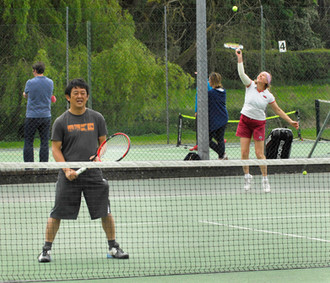 Date for your diary - Tennis Open Doubles