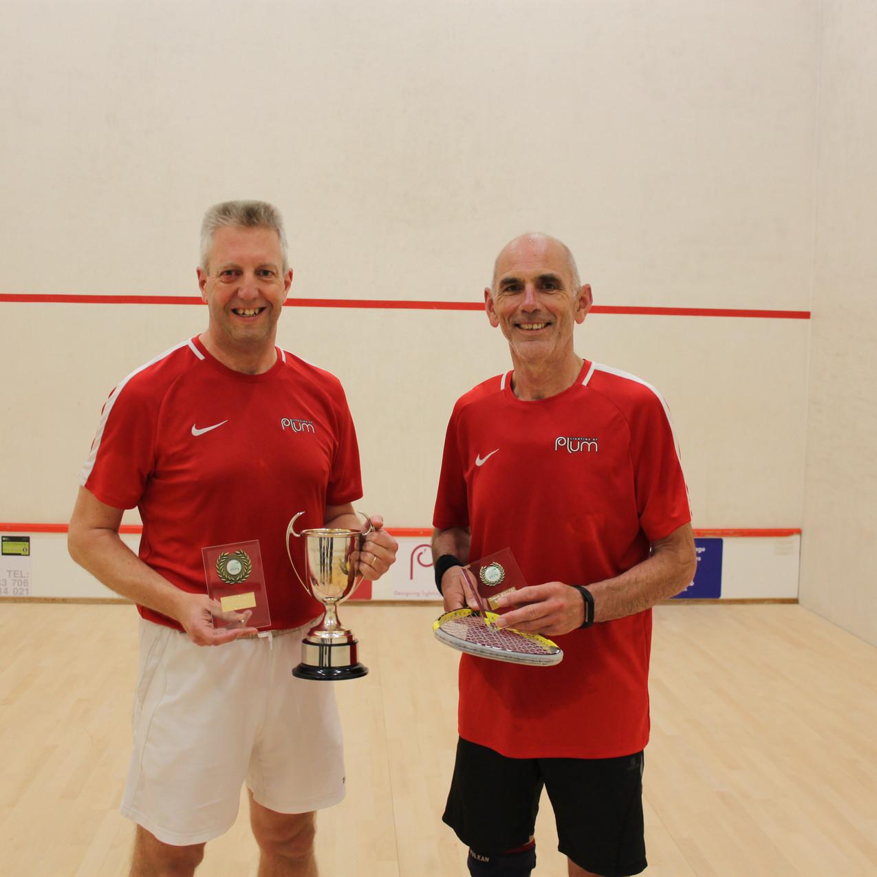 Final and Vets Neil Hollister & Roger Hi