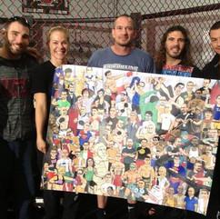 Mike Winklejohn and Greg Jacksons MMA Gym