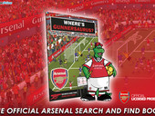'Where's Gunnersaurus?' - The official Arsenal Search And Find Book.