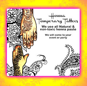 Henna tattoos in Oahu, Hawaii