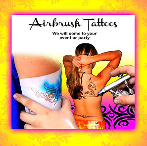 Airbrush tattoos in Oahu Hawaii