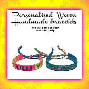 Handmade woven bracelets in Oahu Hawaii