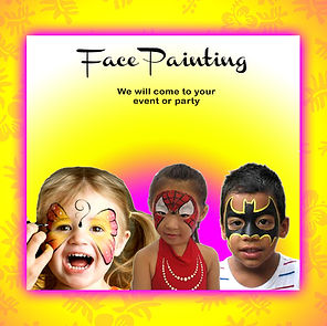Face Painting in Oahu Hawaii