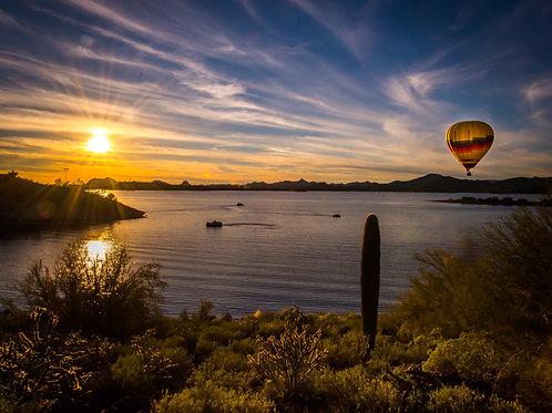 Floating through Arizona