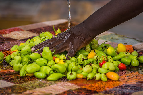 Hand Washing Peppers