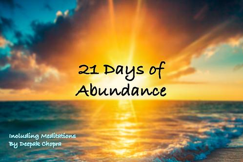 21 Days of Abundance