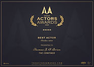 LA Actors Award Best Actor Award 2020 Th