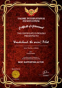 Tagore International Film Festival TIFF Wonderland the series Pilot Best Supporting Actor Award Thomas J. O'Brien