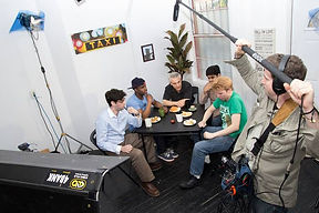 The Rhyme Imperonator Show pilot shoot 2