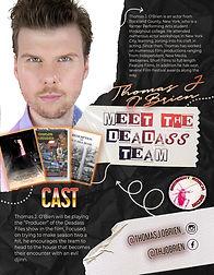The Deadass Files cast member character