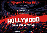 HBHF Hollywood Blood Horror Festival Best Actor Award Thomas J. O'Brien The Confined
