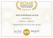 Rome International Awards Best Supportin