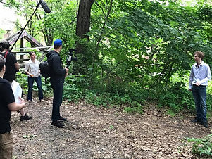 BTS onset for The Confined shortfilm