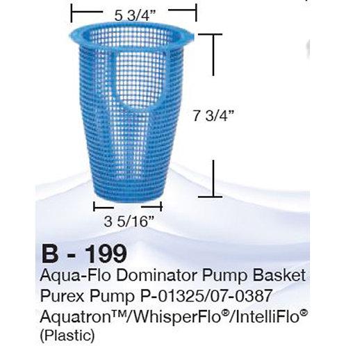 B-199 Basket for whisperflow pump #070387