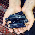 Indigo clothespins. A fantabulous byprod