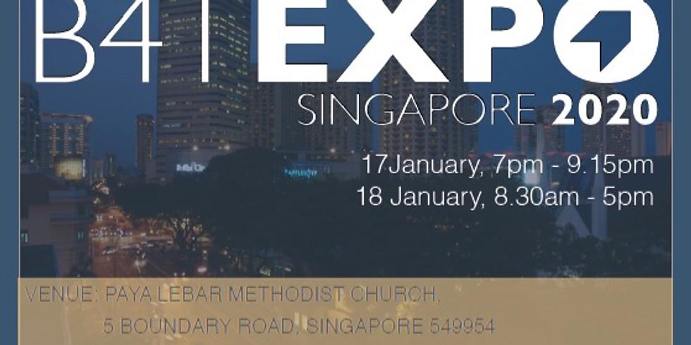 B4T Singapore Expo 2020