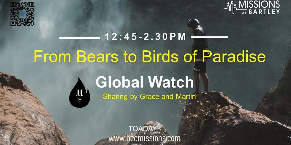 Global Watch Sunday