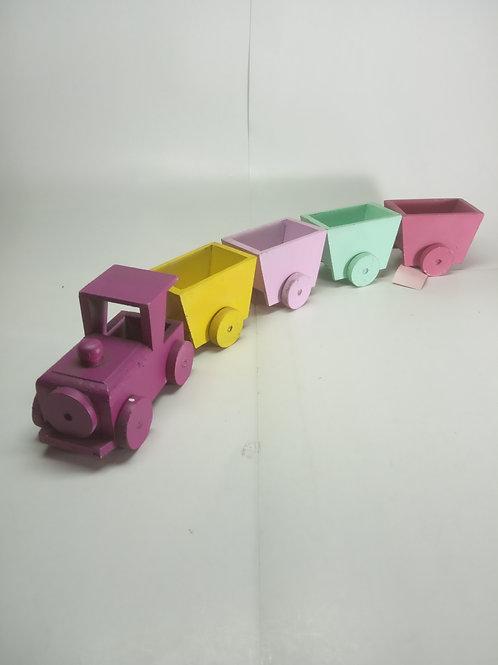 Trem de madeira - Pepy