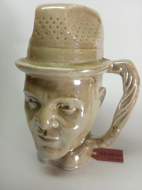 Caneca porcelana cabeça