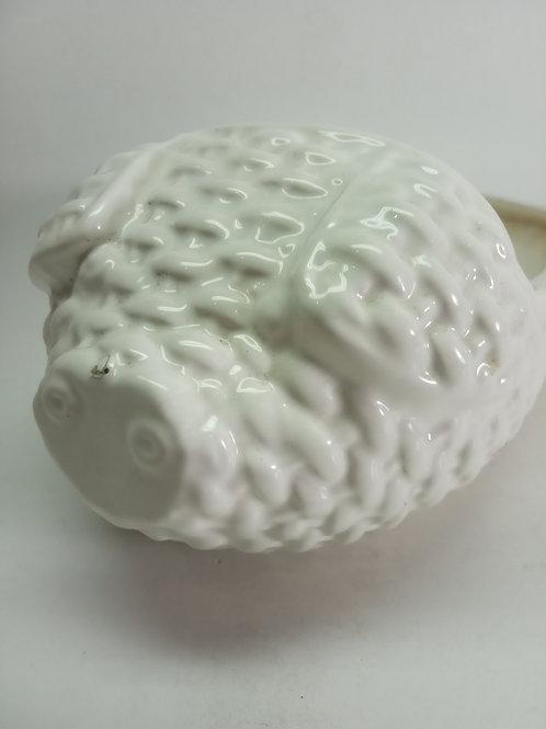 Porta treco porco porcelana